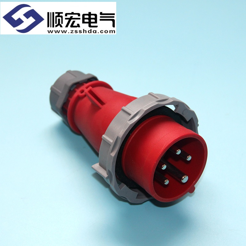 IP67 16A 5芯 防水防爆航空插头