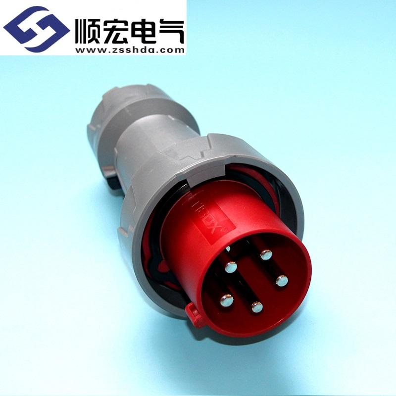 IP67 63A 5芯 防水防爆多用插头