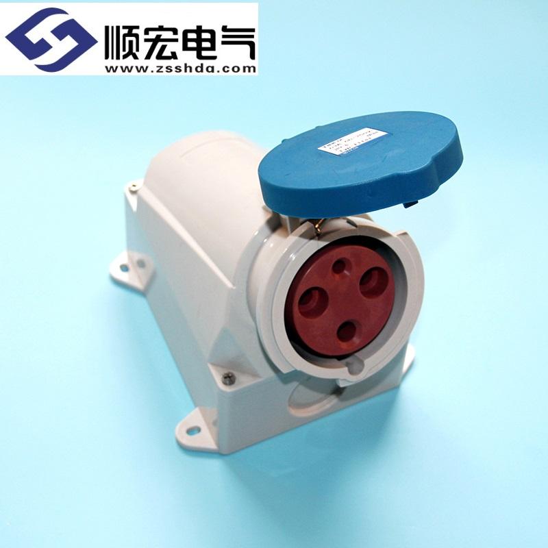 IP44 63A 4芯 防水防爆明装插座