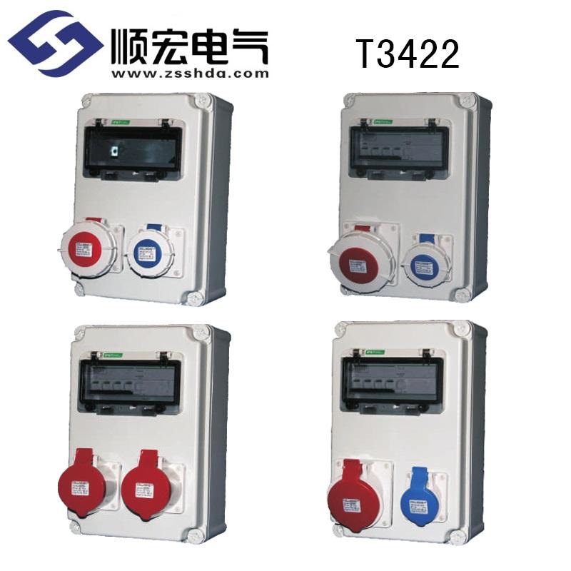 T3422 塑料电源插座箱