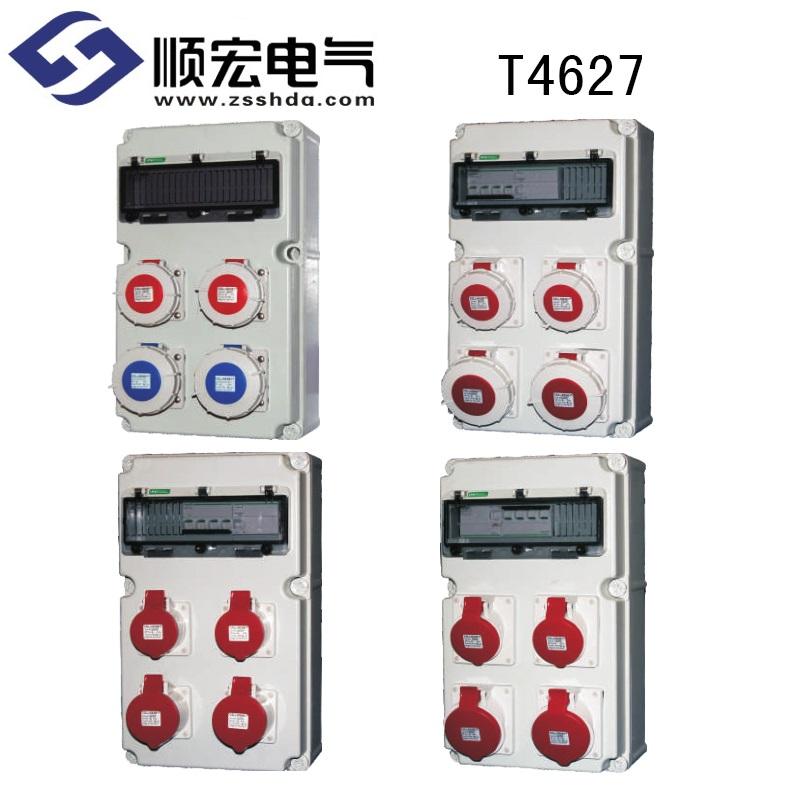 T4627 塑料电源插座箱