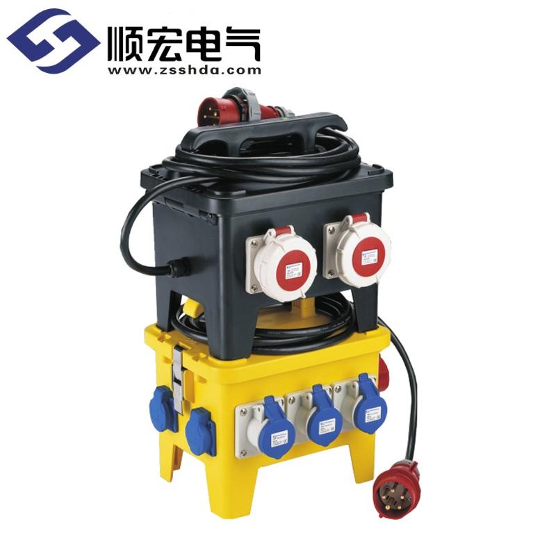 TKL-1806系列 12位移动式防水插座箱