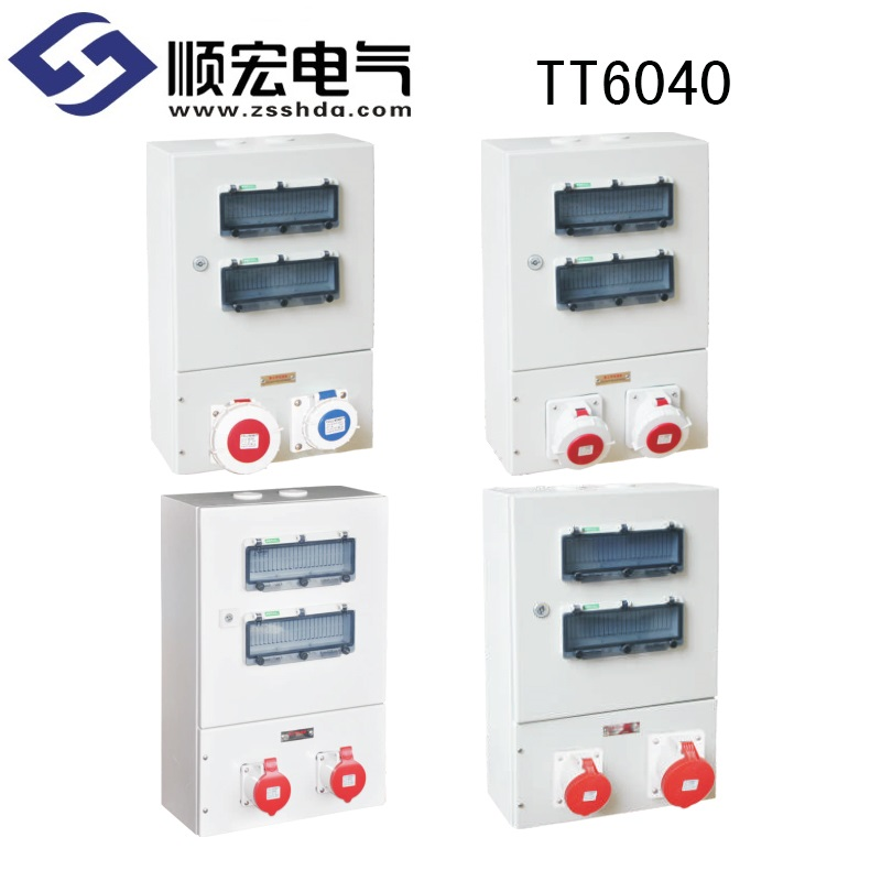 TT6040 金属电源插座箱 600*400*200