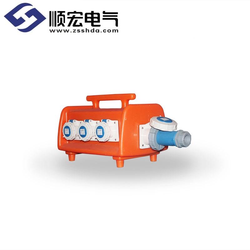 TKL-1806-AE 12位移动式防水插座箱