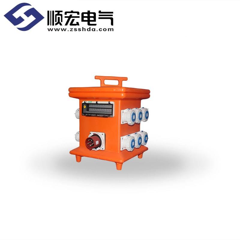 TKL-1806-AG 12位移动式防水插座箱