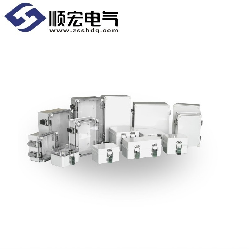 TJ系列 塑料盒(金属铰链+搭扣型)
